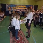 Społeczność szkolna Sp 1 oficjalnie powiększona o pierwsze klasy.