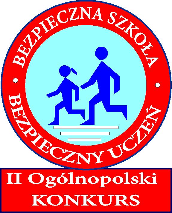 logo bezpieczna szkoła-bezpieczny uczeń